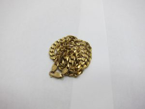 K14金YG 14KT喜平ネックレス買取りいたしました神戸三宮