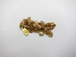 K18/5.2gネックレス18金買取りさせていただきました。神戸三宮高価買取ブランドラボ