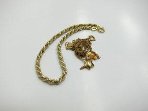 K18金ネックレス他11g買取りいたしました。