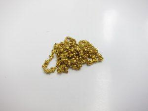 K22金ネックレス12g買取りいたしました。