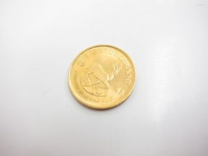 K22金クルーガーコイン1/4オンス買取りいたしました。