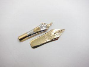 K18金&K14金万年筆ペン先1.1g買取りいたしました。
