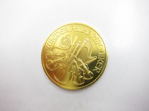 K24金ウィーンハーモニー金貨1オンス/31.1g買取りいたしました。