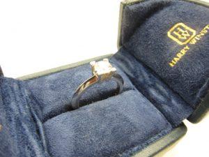HarryWinstonハリー・ウィンストン HWリング0.50ct買取いたしました。