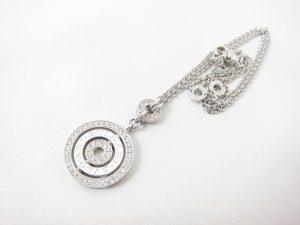 ブルガリホワイトゴールドダイヤモンドネックレスチェルキCL852376買取いたしました。