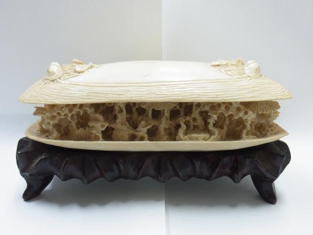 象牙買取させて頂きました。象牙置物、象牙彫り物の買取なら大阪、神戸のブランドラボ