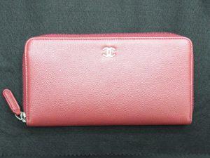 シャネル長財布買取させて頂きました。キャビアスキンオールラウンド・神戸・三宮のブランドラボ