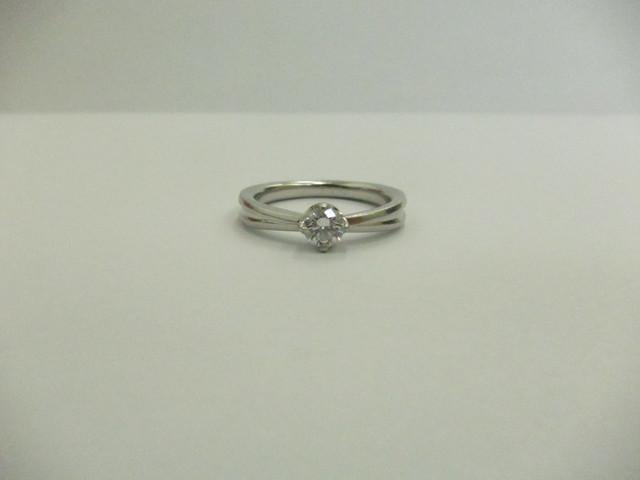 ダイヤモンド 買取 大阪 神戸 エンゲージリング 0.278ctダイヤ 無料査定