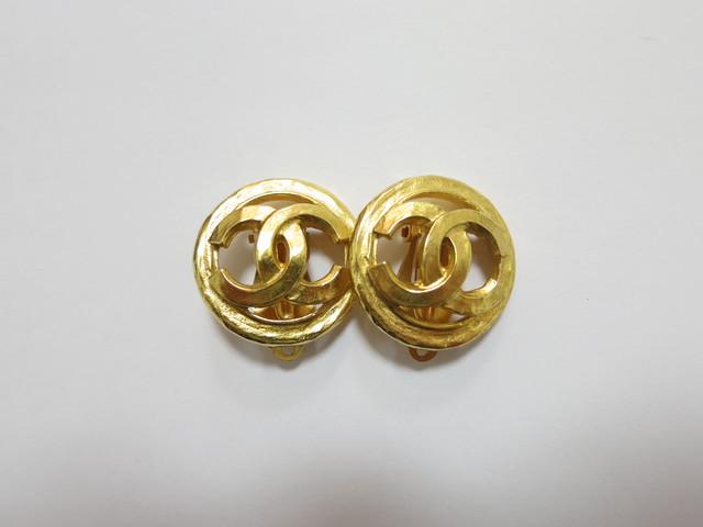 シャネル 買取 大阪 神戸 ゴールドイヤリング ヴィンテージアクセサリー