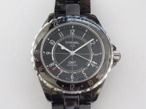 シャネル 時計 買取 大阪 神戸 J12 GMT 黒セラミック H2012 高額査定