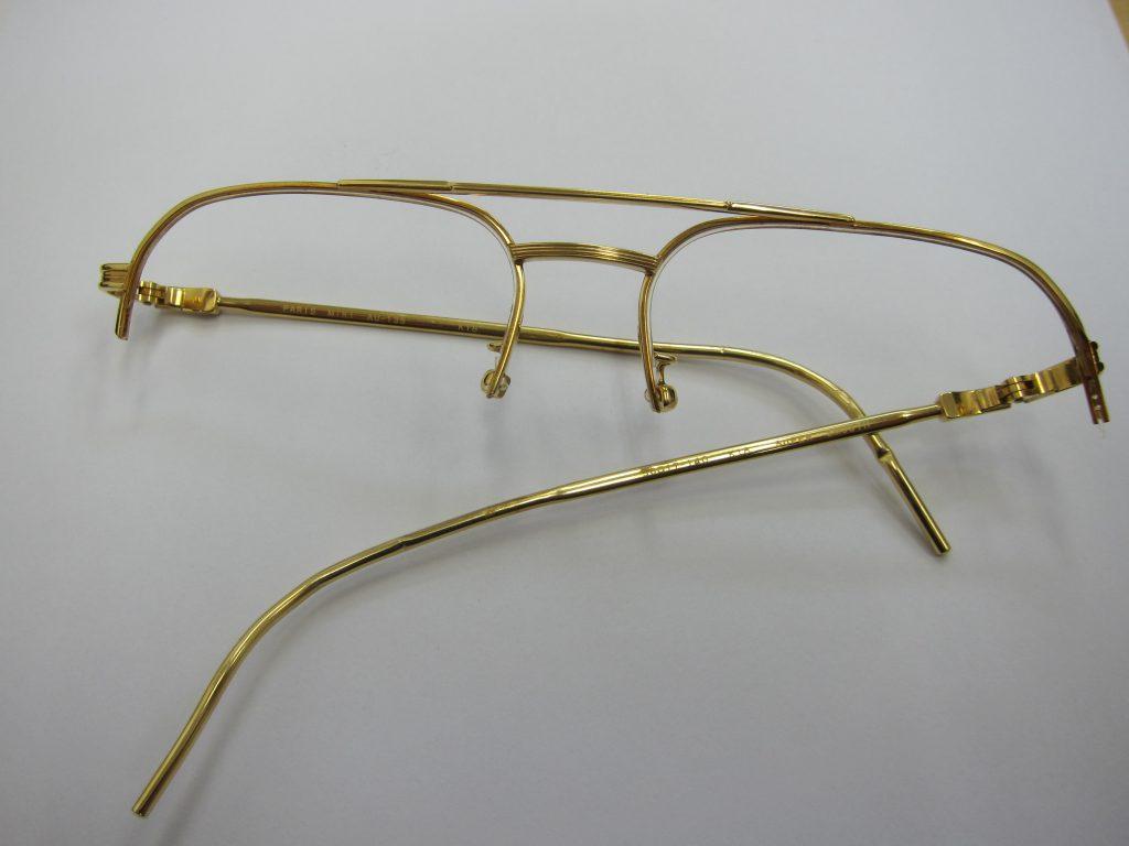 金k18金メガネ枠買取・大阪神戸・金製品高価買取