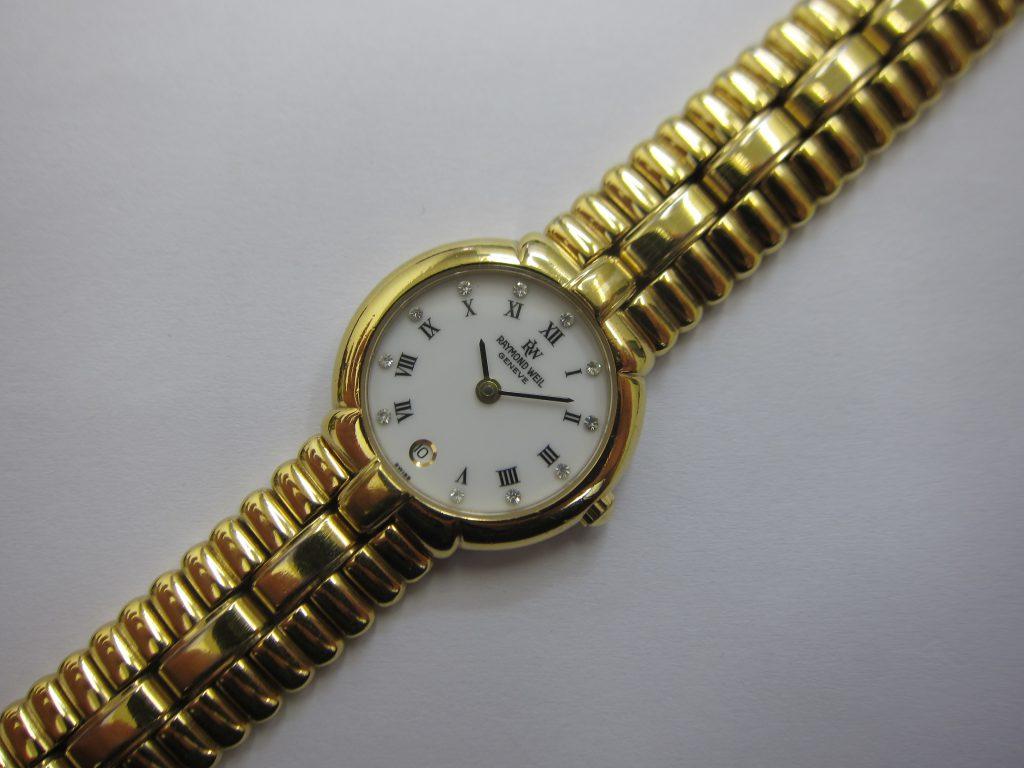 レイモンドウィル時計・9954大阪神戸・ブランド時計高価買取