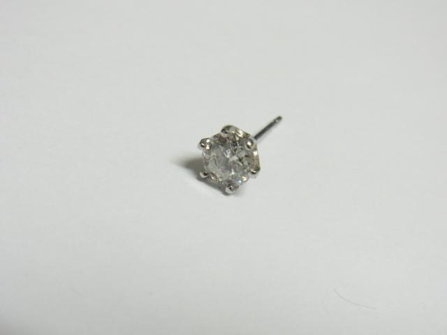 ダイヤモンド 買取 大阪 神戸 0.3ct ダイヤのピアス 片方 無料査定