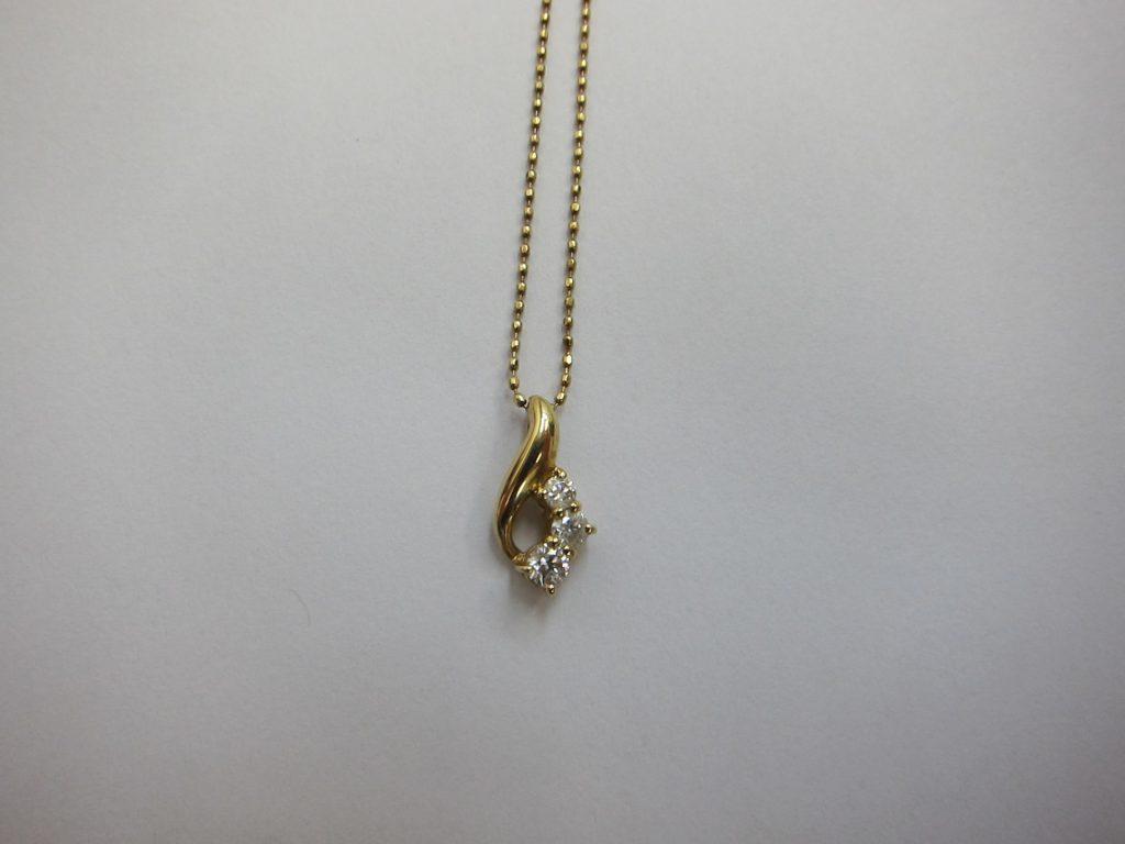 ダイヤモンドネックレス・高価買取・大阪神戸