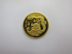 金 買取 大阪 神戸 K24 純金コイン シンガポール ドラゴン金貨 高額査定