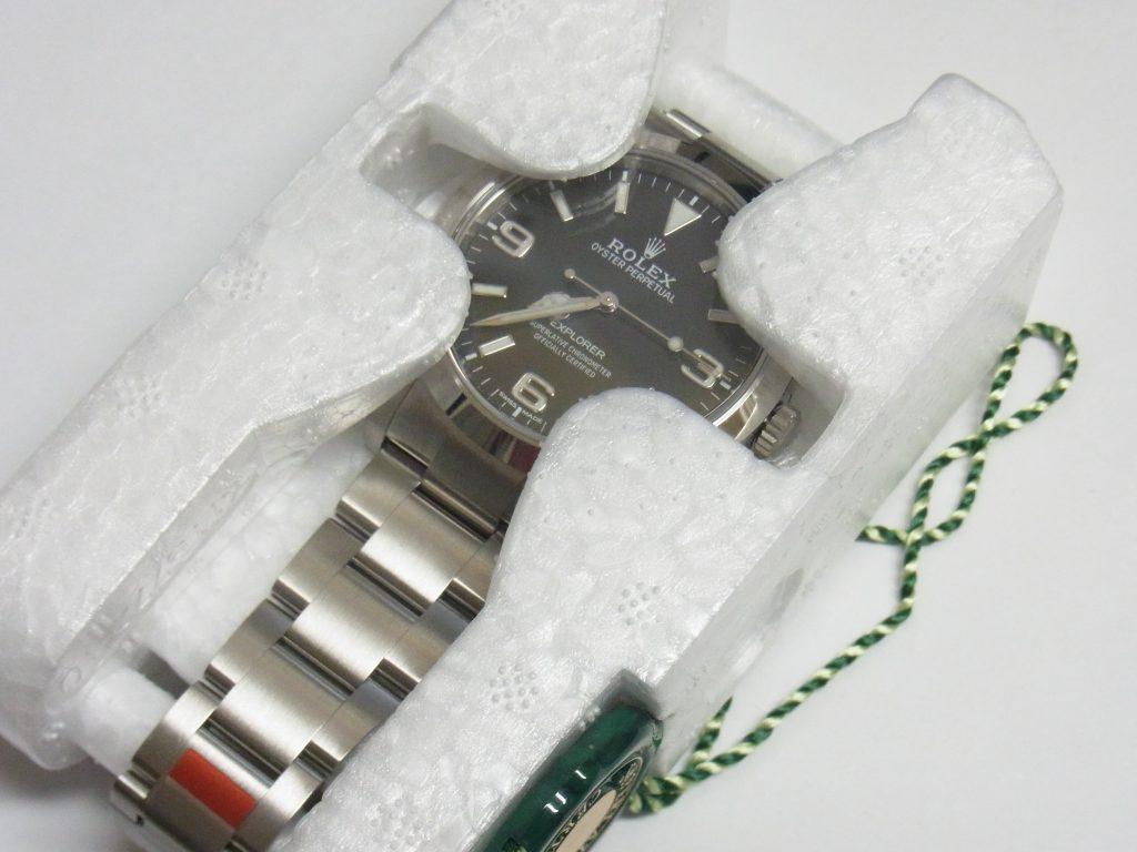 ロレックス 買取 大阪 神戸 新型214270 エクスプローラーⅠ 高額査定