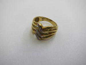 コンビk18pt900リング・メレダイヤモンド・高価買取大阪神戸