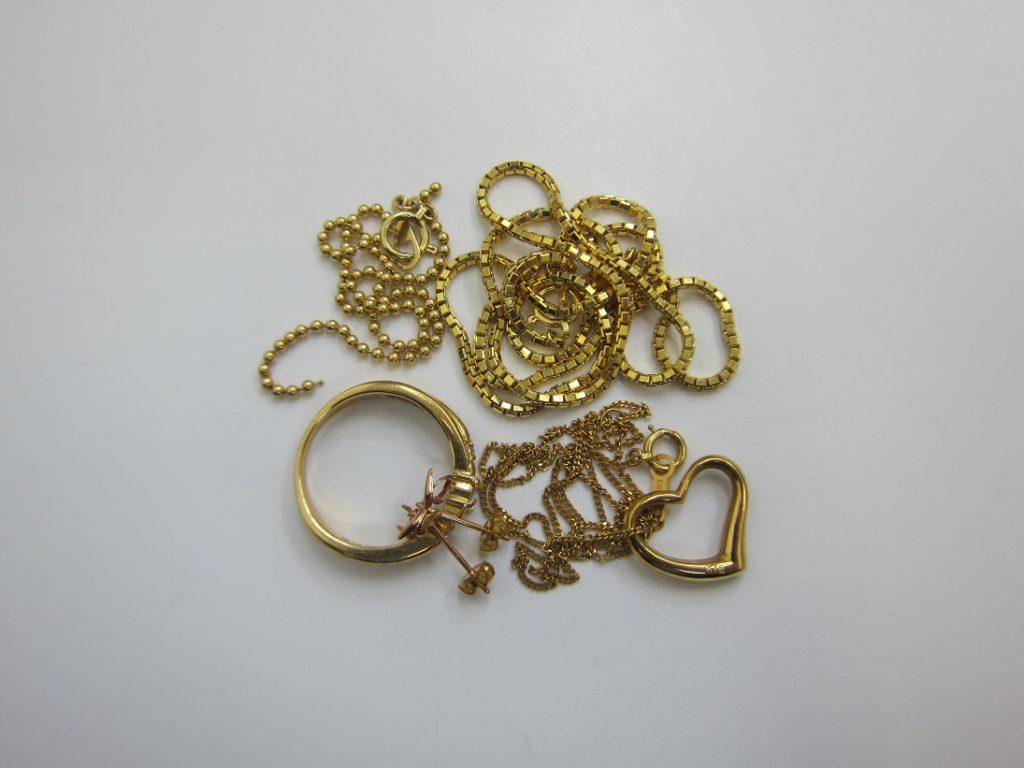 金 買取 神戸 大阪 K18 18金 ネックレス ブレスレット 貴金属 無料査定