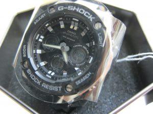 カシオ・G-SHOCK ・GST-S300-1A・5525高価買取大阪神戸時計買取