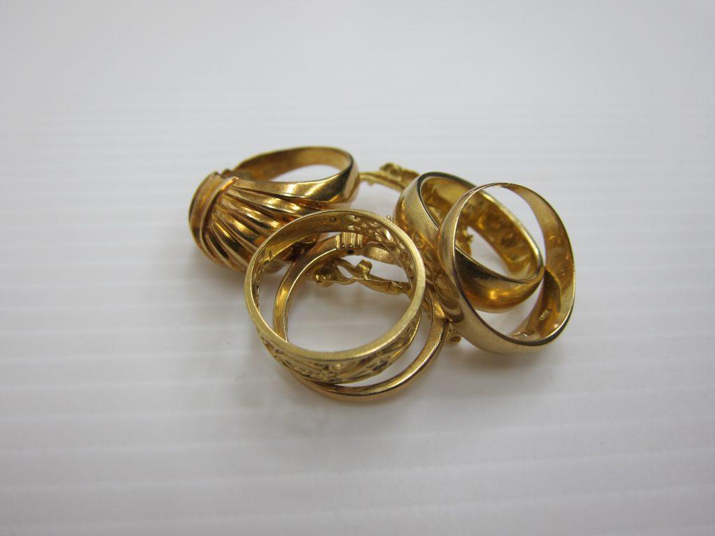 K18金 指輪 買取 相場 大阪・神戸 リング高価買取