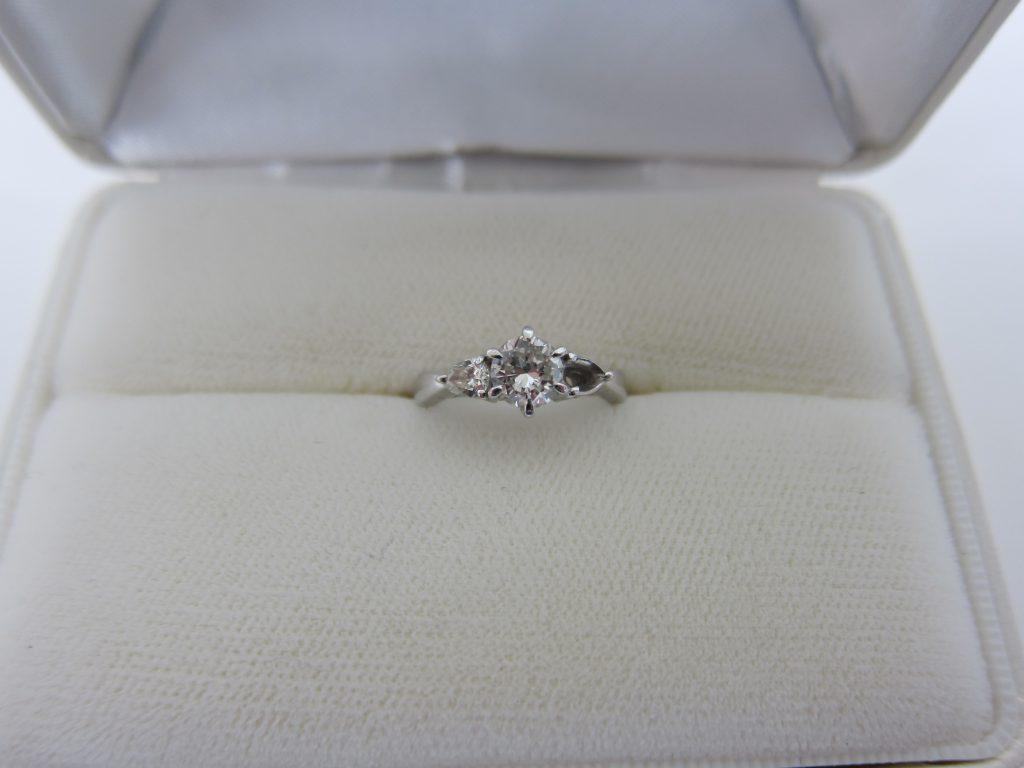 ダイヤモンド買取 ダイヤモンドリング高価買取 大阪神戸 石が取れた