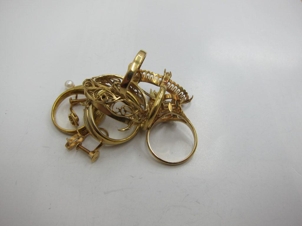 金買取・K18金・ネックレス・使わないリング・高価買取・大阪神戸・相場上昇