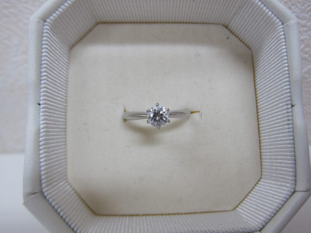 立て爪ダイヤモンドリング高価買取・大阪神戸・婚約指輪高価買取