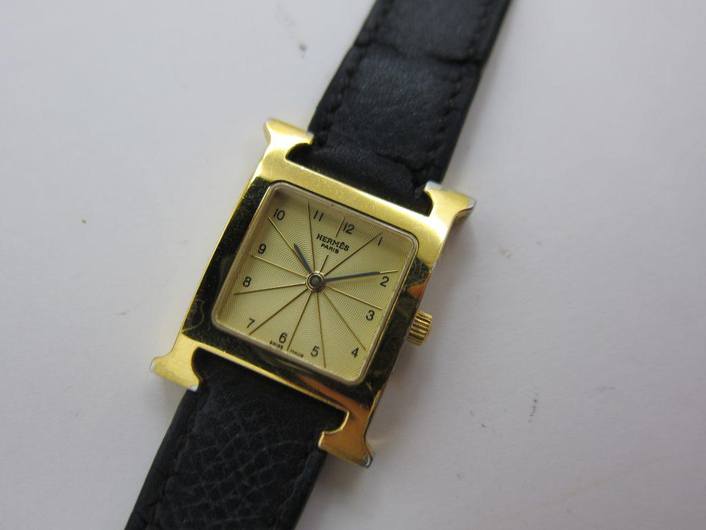 HERMES・時計Hウォッチ HH1.202・高価買取大阪神戸