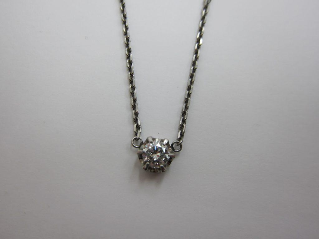 ダイヤモンドネックレス高価買取・大阪神戸・宝石買取