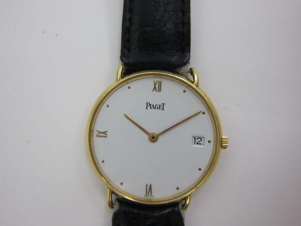 ピアジェ・15068・k18クォーツ高価買取大阪神戸ブランド時計買取