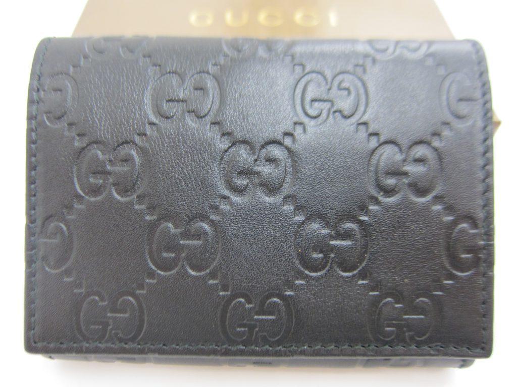 グッチシマ・カードケース・高価買取・大阪神戸・ブランド買取