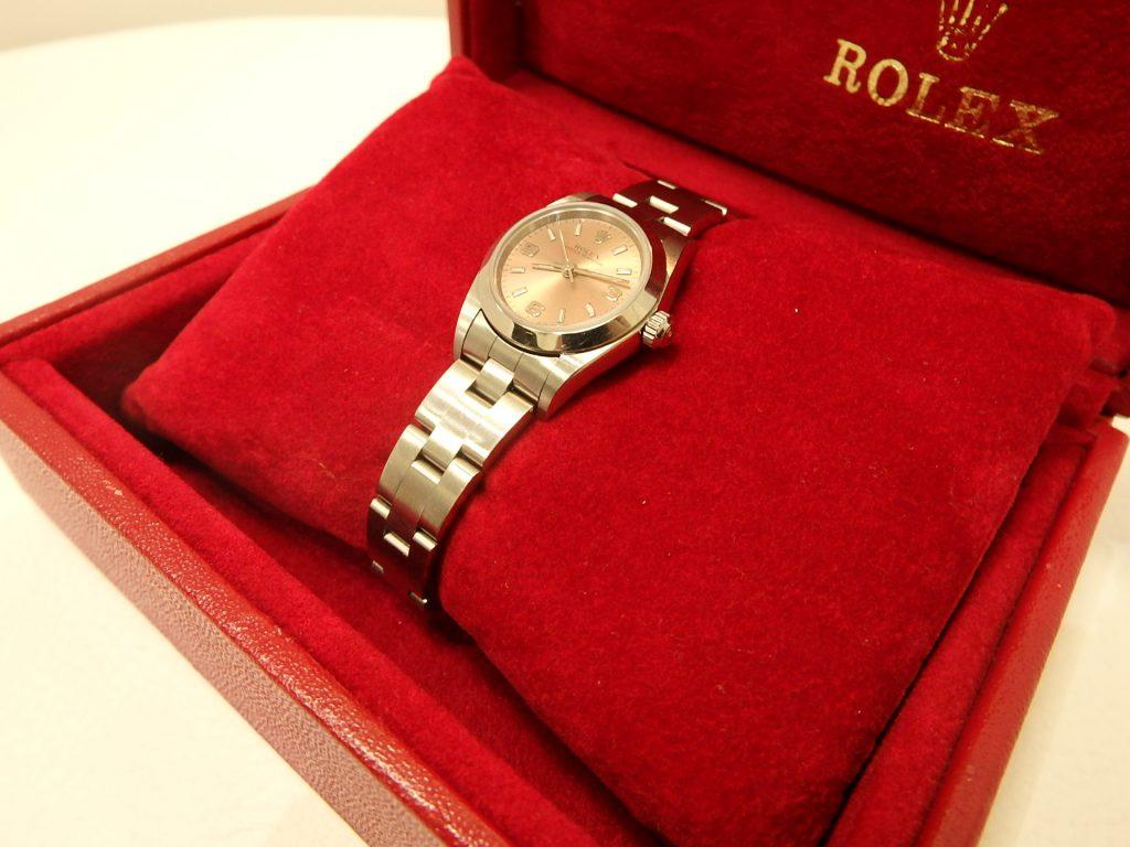 ロレックス買取 76080買取 大阪神戸 レディース時計