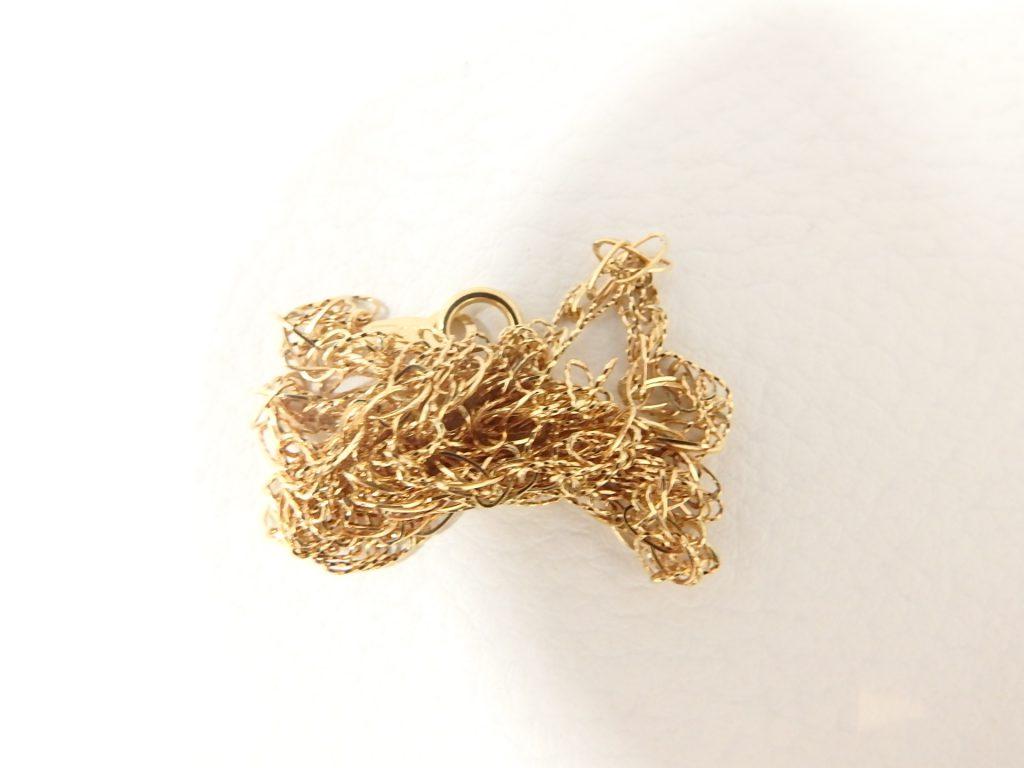 金買取 K18金ネックレス 切れたネックレス 高価買取