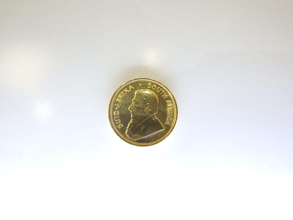 金買取  K22金 クルーガーコイン買取 大阪神戸 海外コイン