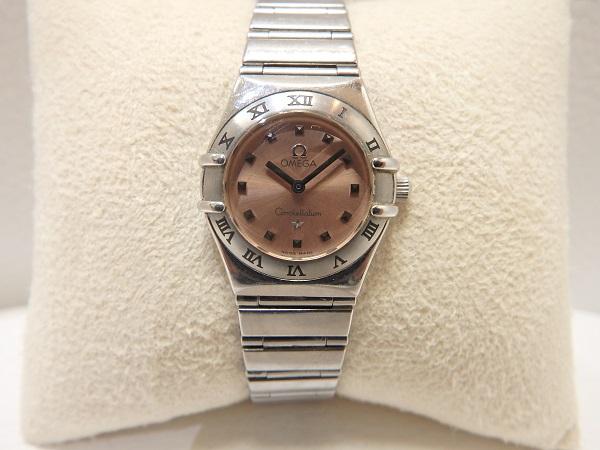 オメガ買取 コンステレーション マイチョイス レディース時計 高価買取