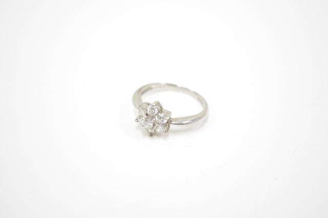ティファニーバターカップリング風ダイヤモンドプラチナリングPt900ダイヤモンド0.5カラット3.8g買取いたしました。
