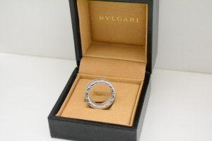 ブルガリBVLGARI指輪ビーゼロワンリングホワイトゴールド買取いたしました。