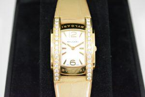 ブルガリ婦人時計アショーマAA31Gイエローゴールド×ダイヤモンド買取いたしました。