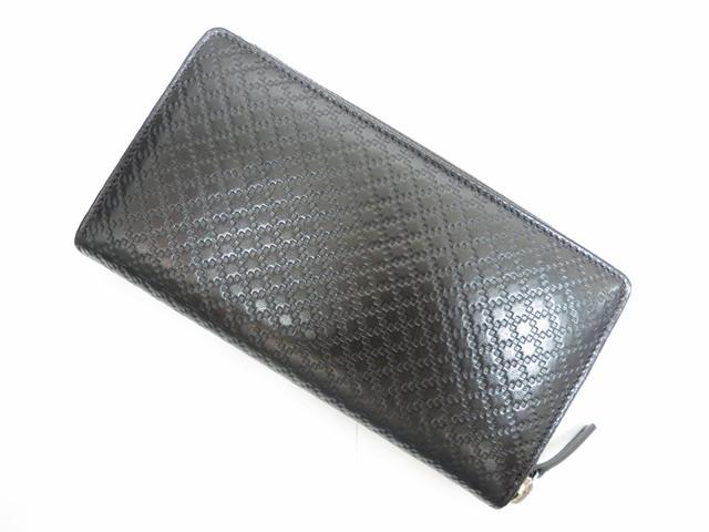 グッチ ディアマンテ(ダイヤモンドパターン)ラウンドジップ長財布251723買取いたしました。