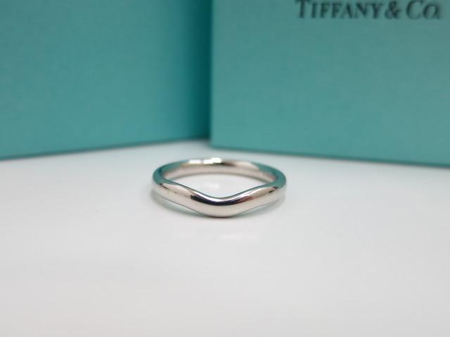 ティファニー 結婚指輪 宅配買取 カーブドバンドリング買取