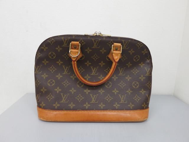 ルイヴィトン 古いバッグ 宅配買取 ブランド品 断捨離 高額査定