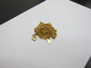 K18金 ネックレス買取りさせて頂きました。