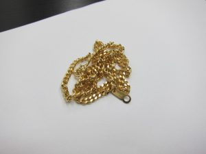 K18金ネックレス買取りいたしました。神戸三宮