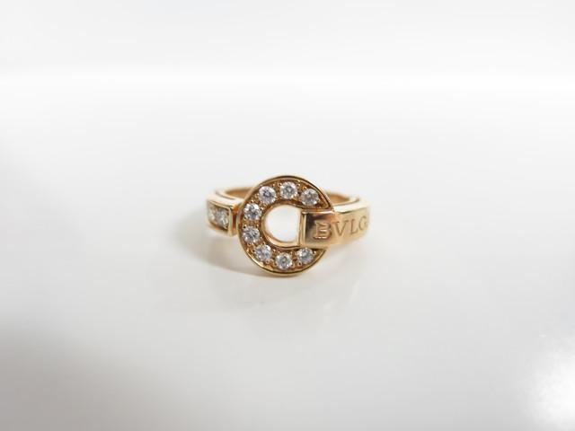 ブルガリ・ブルガリリング AN855854 ダイヤモンド・18KPG 買取