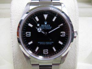 ロレックス エクスプローラー Ref114270 F番買取りいたしました。神戸三宮時計高価買取買取ブランドラボ