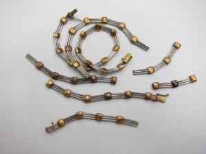 K18&Pt850コンビちぎれたネックレスとブレスレット30g買取りいたしました。神戸三宮高価買取ブランドラボ