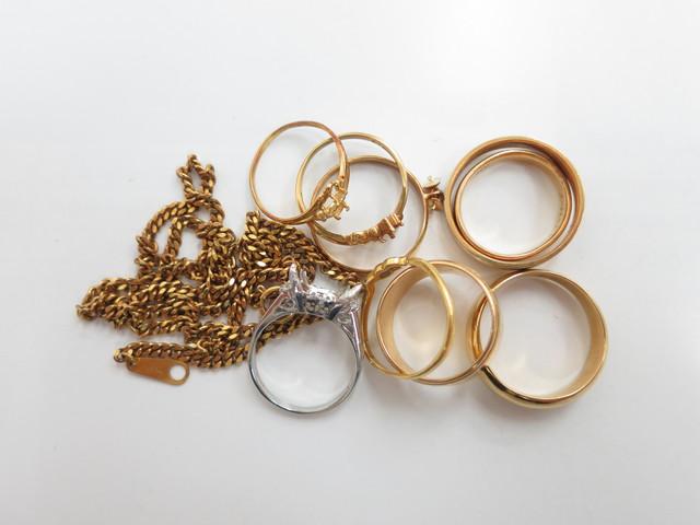 金プラチナ相場 K18 Pt900 指輪やネックレスを高価買取