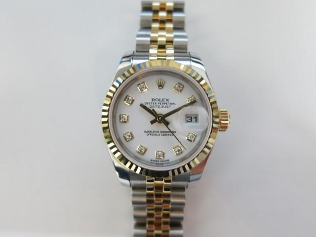 デイトジャストレディース 179173G 高価買取 ブランド時計