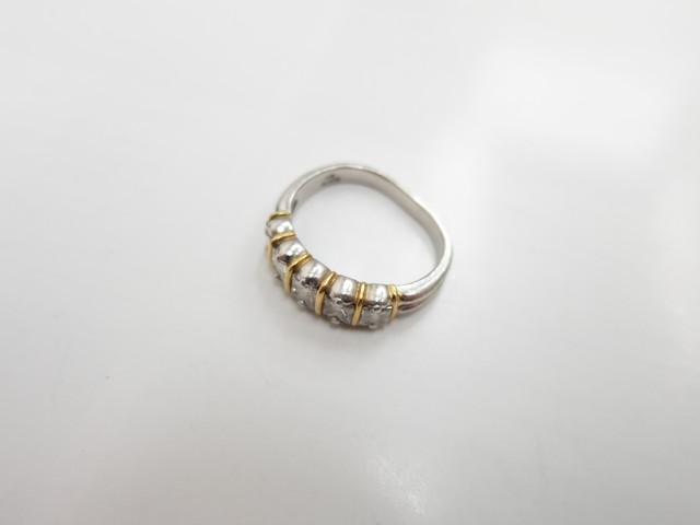 一文字リング プリンセスカット ダイヤモンド 古い指輪も高価買取
