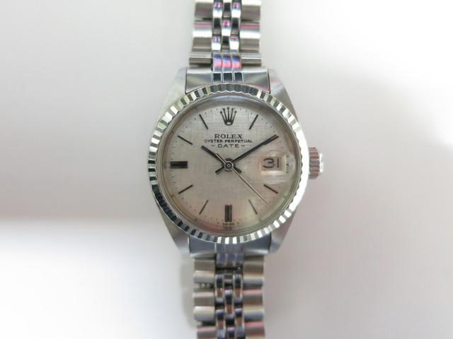 ロレックス 6917 シルバーモザイク文字盤 アンティーク時計 強化買取